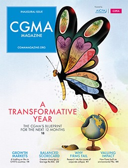 CGMA Magazine, Inaugural issue