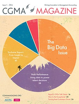 CGMA Magazine, Issue 1 - 2014