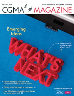 CGMA Magazine, Issue 3 - 2014