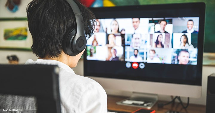 How you show up matters, even on a video call