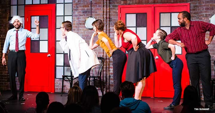 Chicago's famed Second City improv troupe, shown here, has expanded into providing training for corporate clients.