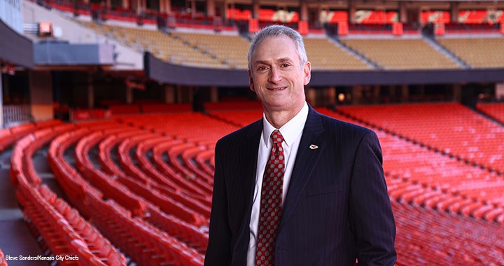 Dan Crumb, CPA, CGMA, has been CFO of the Kansas City Chiefs of the US National Football League for ten years.