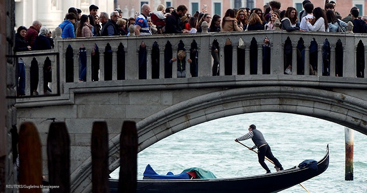 Venice has been identified by the European Parliament to be in a state of overtourism, which puts pressure on the city's infrastructure even as it scrambles to respond to more frequent flooding.