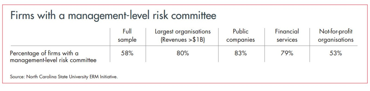 Firms With a Management-Level Risk Committee