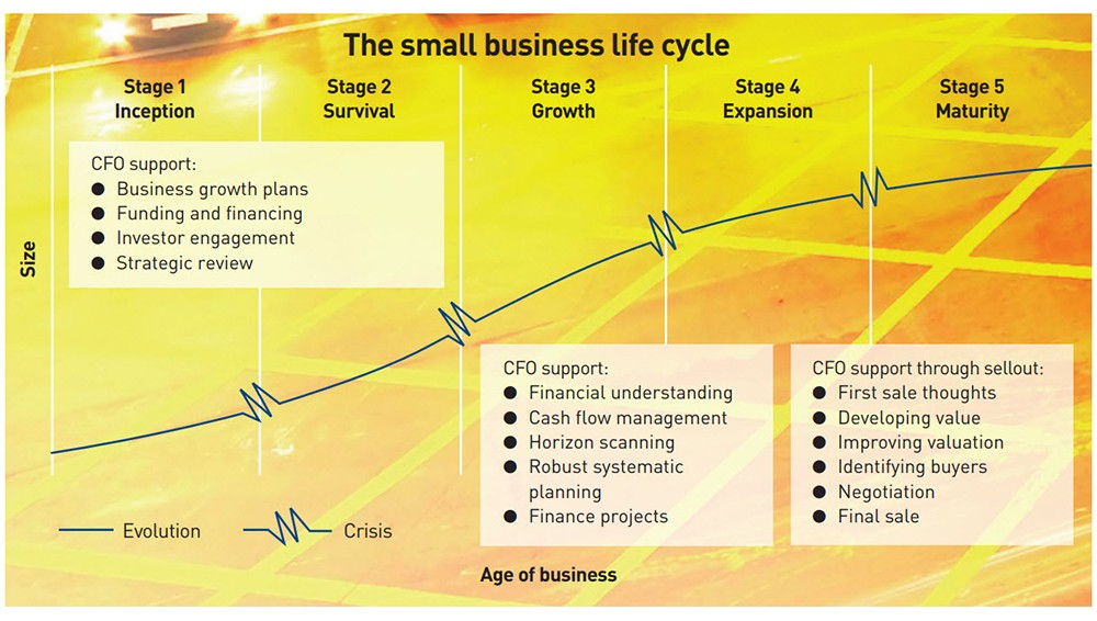 Small business life cycle