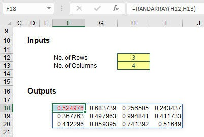 Excel new function focus: SEQUENCE and RANDARRAY - FM