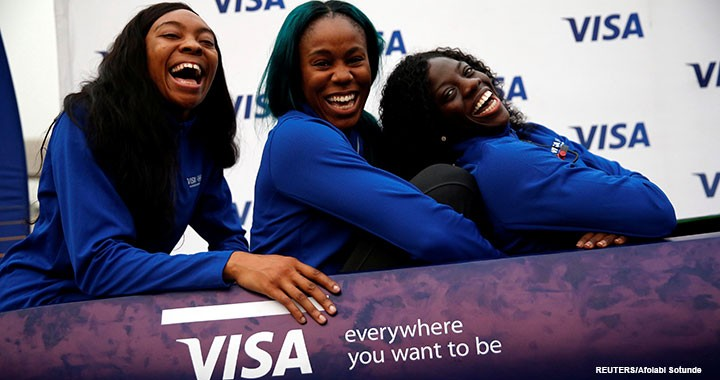 Nigerian Women's Bobsled Team