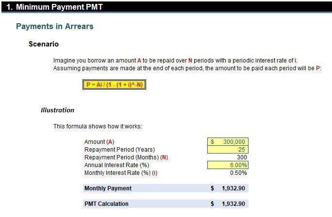 how to use excel for practical debt repayment calculations fm