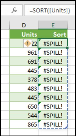 Excel: 2 new errors and a SINGLE function - FM