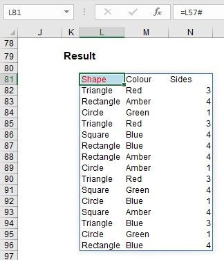 Excel: Arrays, Tables, and 'The Twilight Zone' - FM