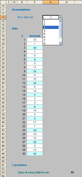MOD-elling periodic transactions in Excel - FM